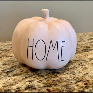 Rae Dunn pumpkin pink